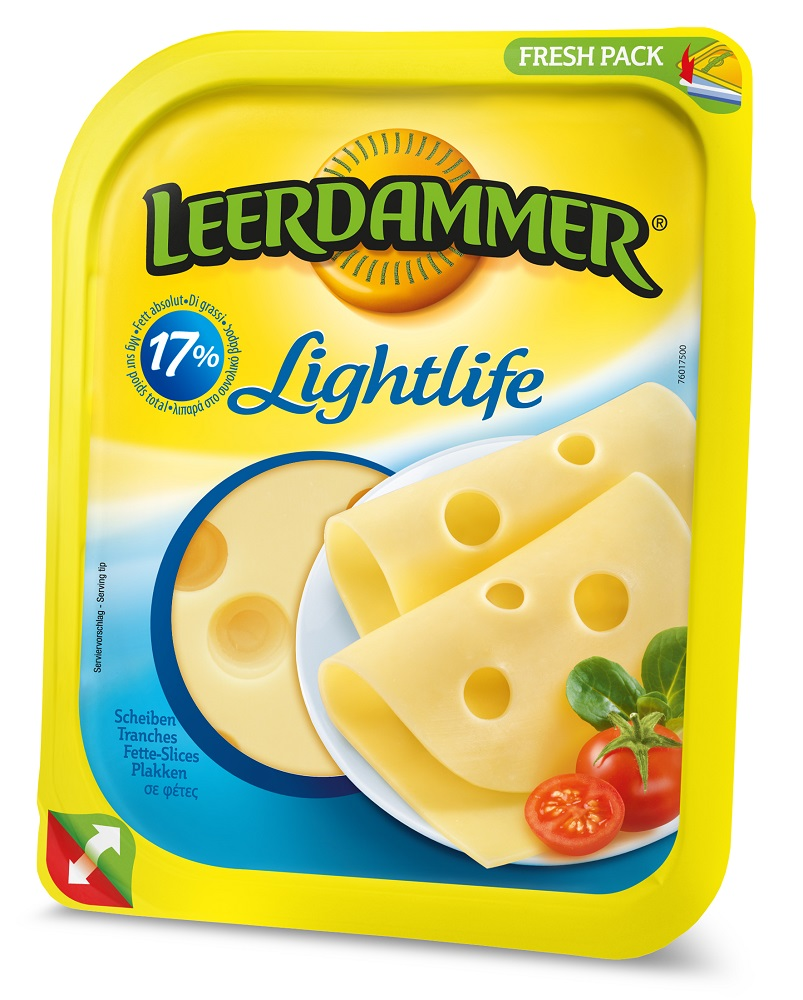 Leerdammer Lightlife Φέτες 175gr