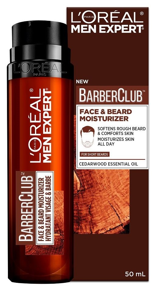 L'OREAL Men Expert Barber Club Κρέμα Προσώπου Face & Beard 50ml