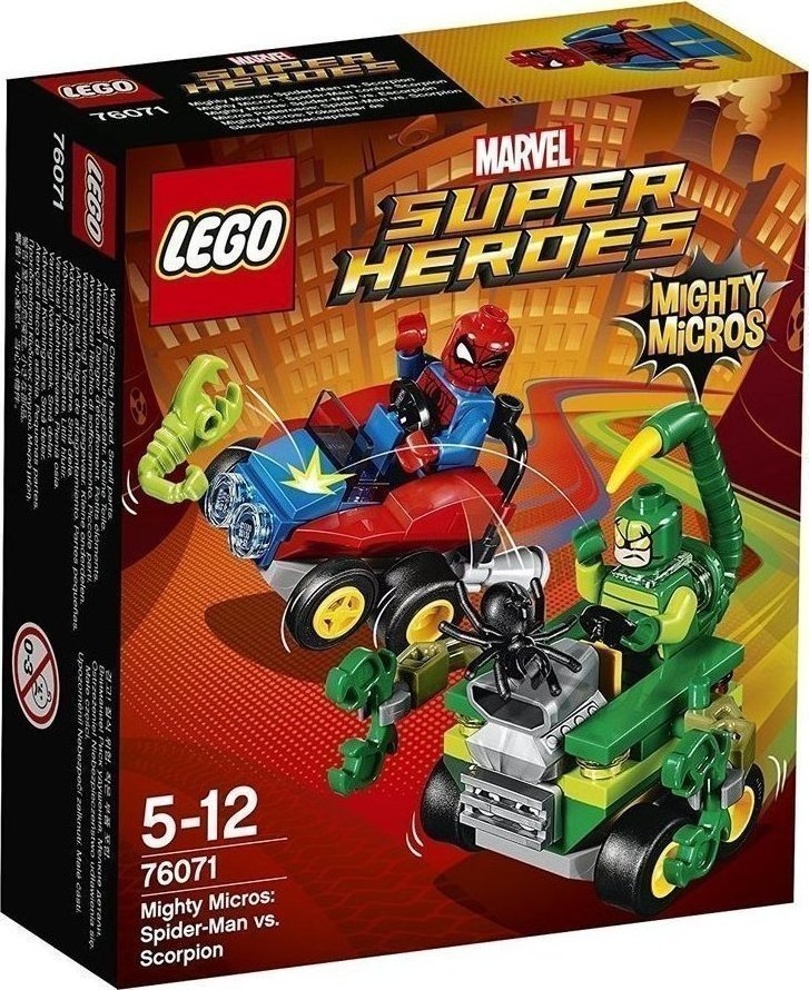 Lego Mighty Micros Spiderman VS Scorpion