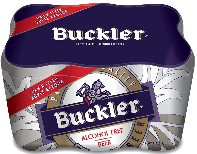Buckler Μπύρα Alcohol Free 6x330ml