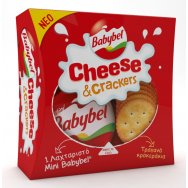 Mini Babybel Cheese & Crackers 40gr