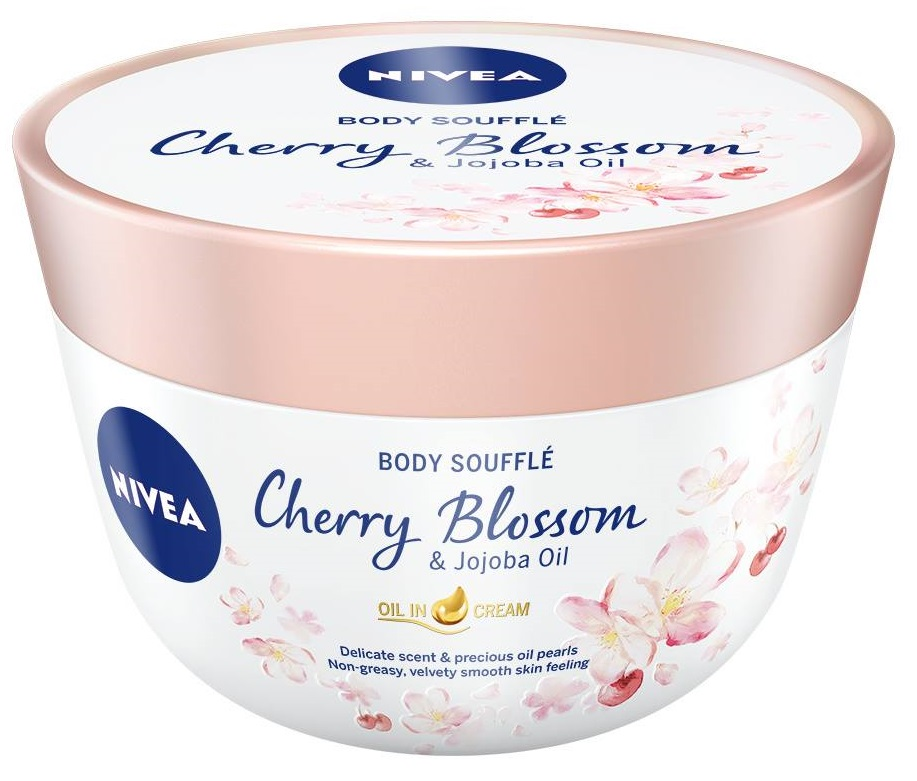 Nivea Body Souffle Cherry & Jojoba Oil 200ml
