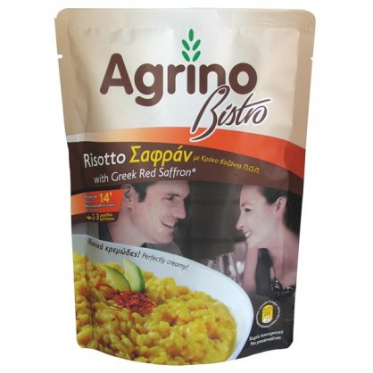 Agrino Bistro Risotto Σαφράν από Κρόκο Κοζάνης Ελλάδας 200gr