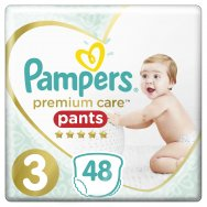 Pampers Πάνες Premium Care Pants Jumbo Pack (48τεμ) Νo3 (6-11kg)