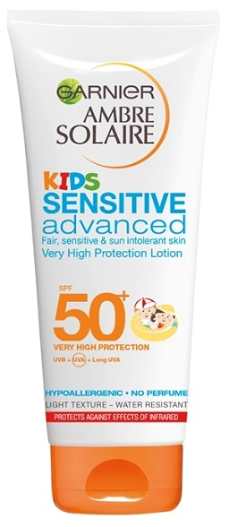 Ambre Solaire Aντηλιακό Γαλ/μα Sensitive Advanced Kids SPF50+ 200ml