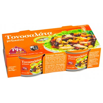 My Gusto Τονοσαλάτα Mexicana 2x170gr