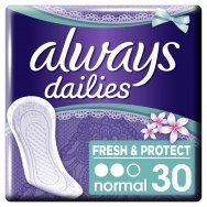 Always Dailies Fresh & Protect Normal Fresh Σερβιετάκια 30 τεμ.