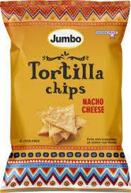 Jumbο Tortilla Nacho Cheese Χωρίς Γλουτένη 200gr