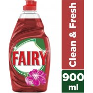 Fairy Clean & Fresh Floral Υγρό Πιάτων 900ml