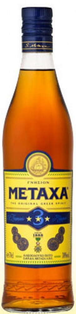 Metaxa 3* 33% 350ml