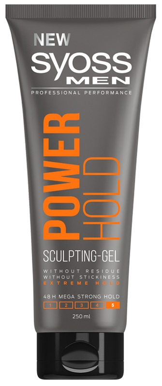 Syoss Gel Men Power Hold 250ml