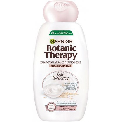 Botanic Therapy Σαμπουάν Oat Milk Delicasy 400ml