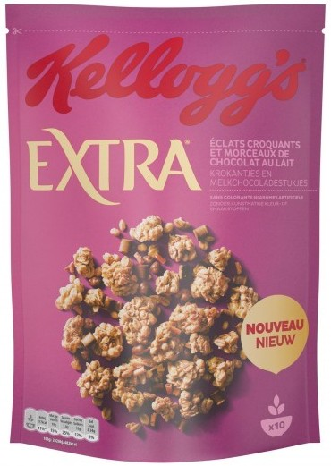 Kellogg's Extra Chocolate Honey Comb Caramel 450gr