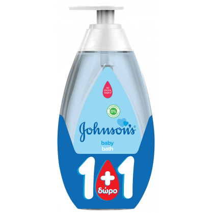Johnson's Baby Bath 750ml 1+1Δώρο