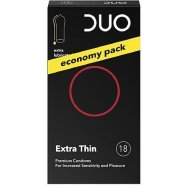 Duo Extra Thin Extra Lubricated 18 τεμ