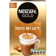 Nescafe Cappuccino Toffee Nut Latte 8 Φακέλων 156gr