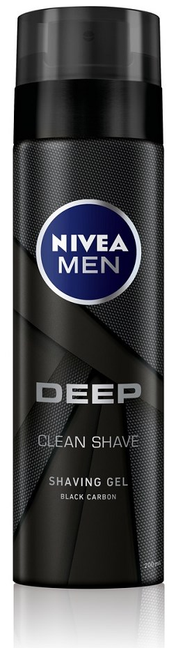 Nivea Men Deep Gel Ξυρίσματος 200ml
