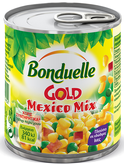 Bonduelle Gold Mexico Mix 170gr