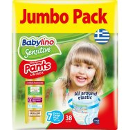 Babylino Sensitive Pants Jumbo Pack No7 (17+kg) 38τεμ