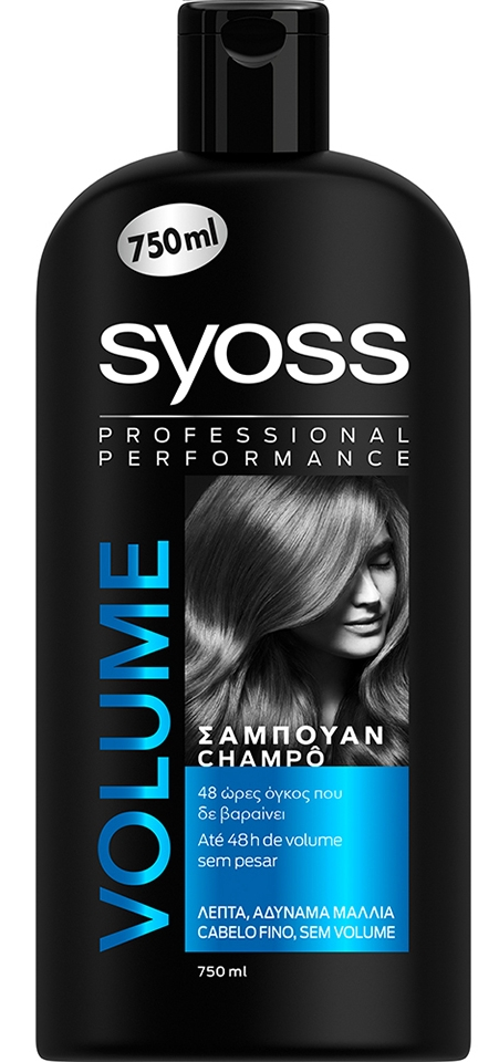 Syoss Shampoo Volume 750ml