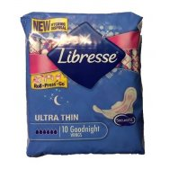 Libresse Σερβιέτα Goodnight Ultra Thin 10τεμ