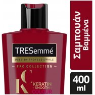 Tresemme Keratin Smooth Σαμπουάν Βαμμένα Μαλλιά 400ml