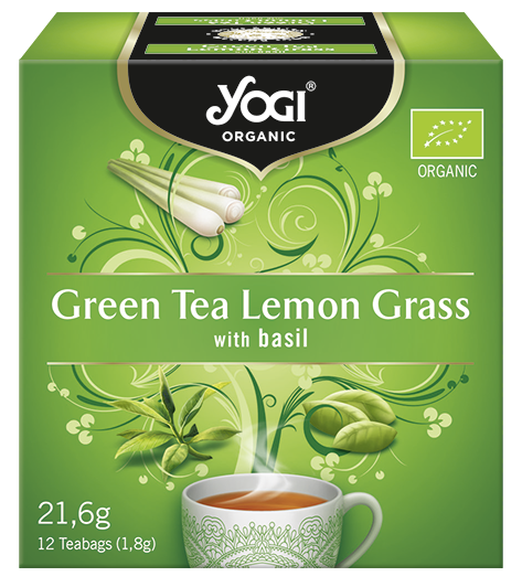 Yogi Green Tea Lemon Τσάι Bio 12x21,6gr