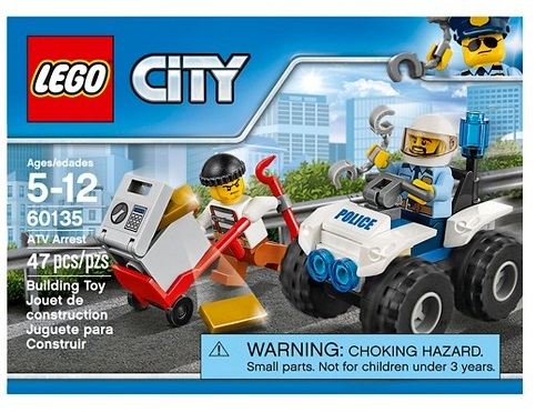 Lego City Police ATV Arrest