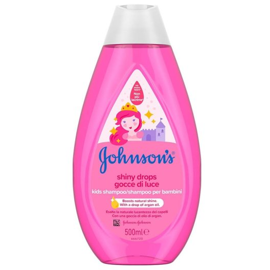 Johnson's Kids Shampoo Shiny Drops 500ml