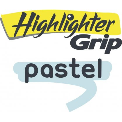 BIC Υπογραμμιστής Hightlighter Grip Paste
