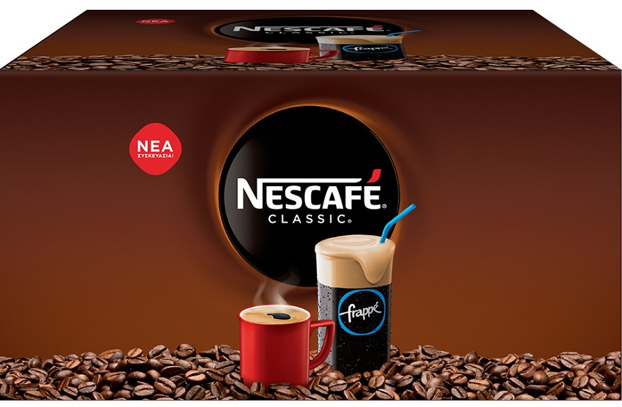 Nescafe Classic Στιγμιαίος Καφές 1,100kg