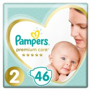 Pampers Πάνες Premium Care Value Pack (46τεμ) Νo2 (4-8kg)