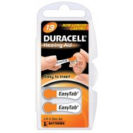 Duracell Hearing Aid Μπαταρίες 1,4V AC13