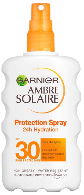 Ambre Solaire Aντηλιακό Spray Classic SPF30 200ml