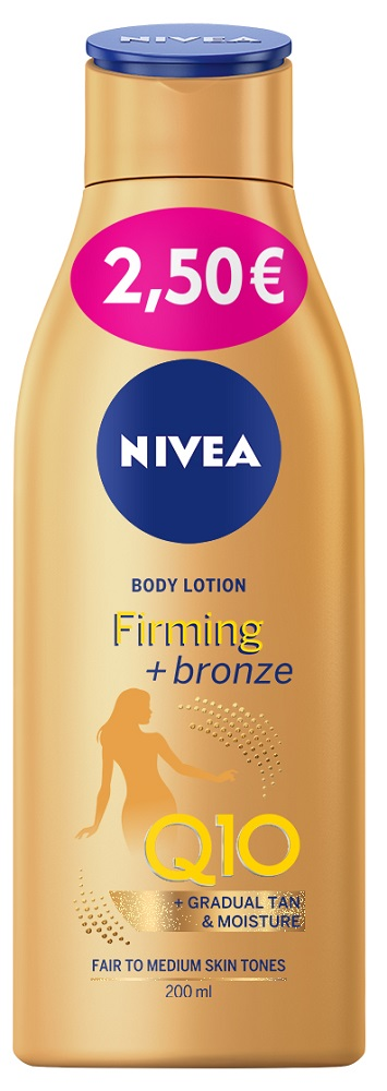 Nivea Q10 Body Lotion Firm & Bronze 200ml -2,5€
