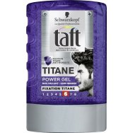 Taft Power Gel Titanium 300ml