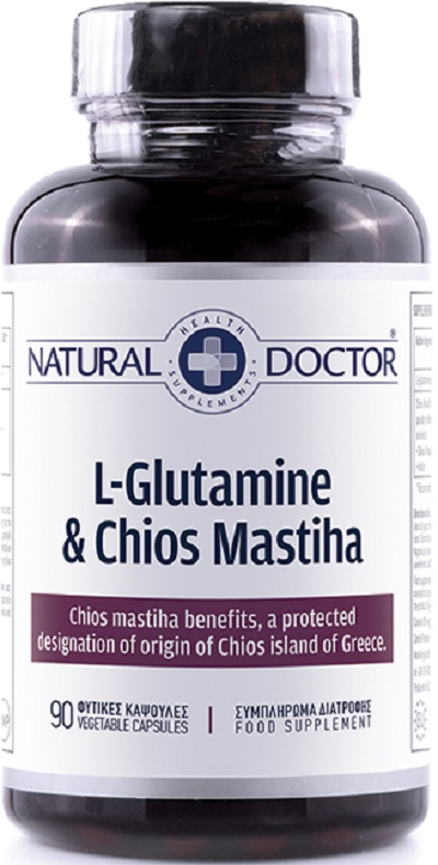 Natural Doctor L-Glutamine & Chios Mastiha 90 Κάψουλες