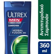 Ultrex Herbfusion 2in1 Σαμπουάν 360ml