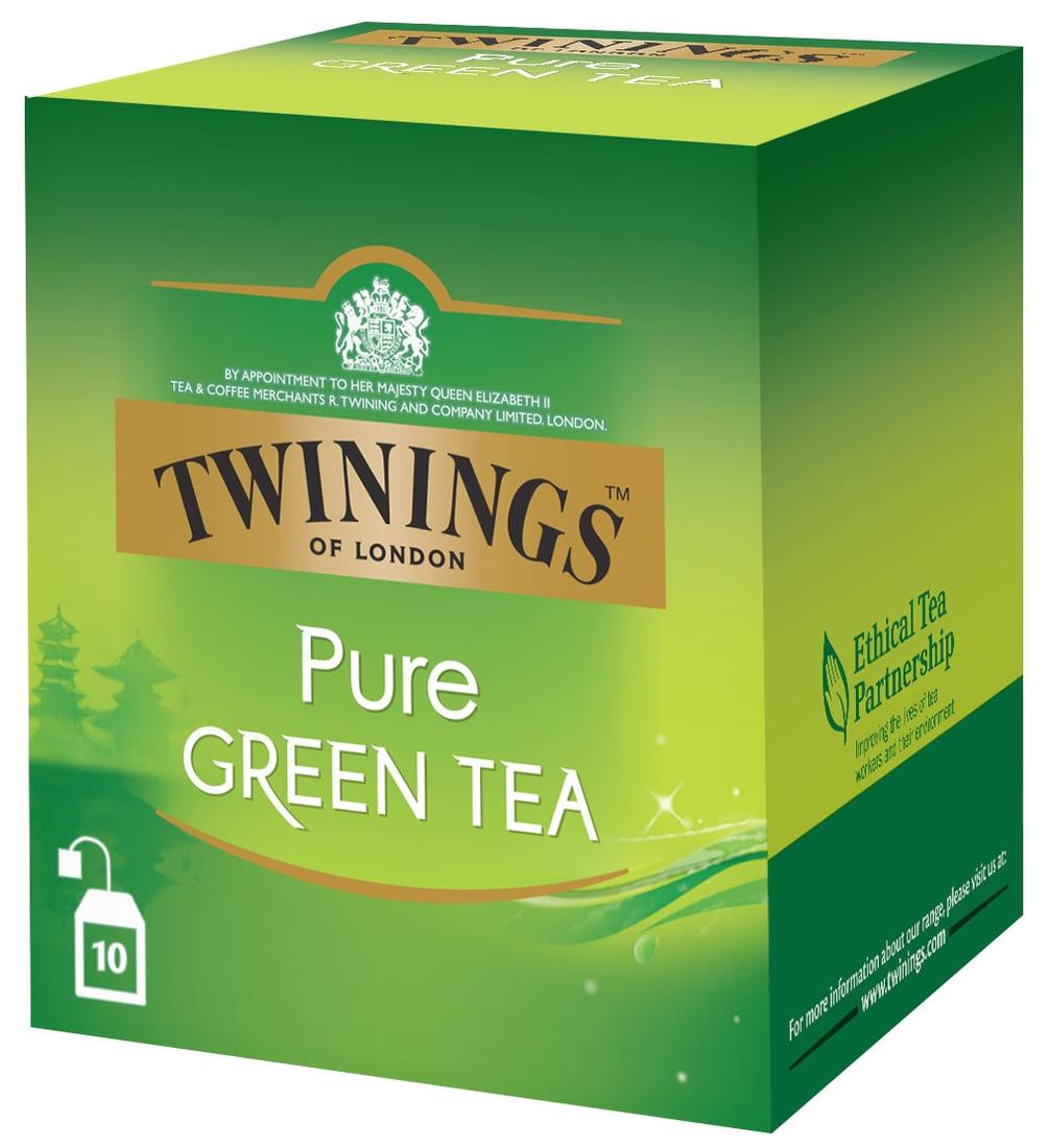 Twinings Τσάι Pure Green 10x2gr