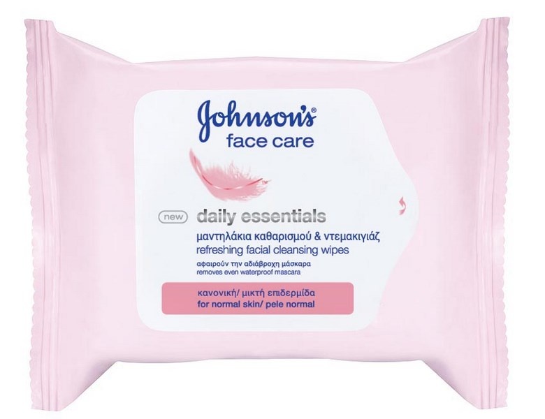 Johnson's Face Wipes Normal 25pcs