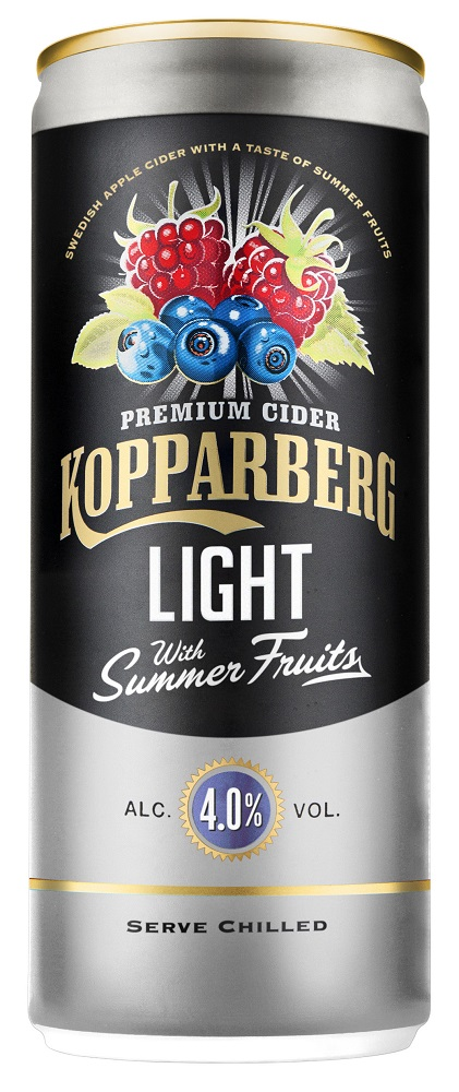 Kopparberg Summerfruit Light Κουτί 250ml