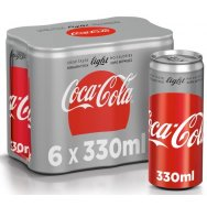 Coca-Cola Light 6x330ml
