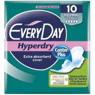 EveryDay Σερβιέτες Hyperdry Eliptica Ultra Plus Normal 10τεμ.
