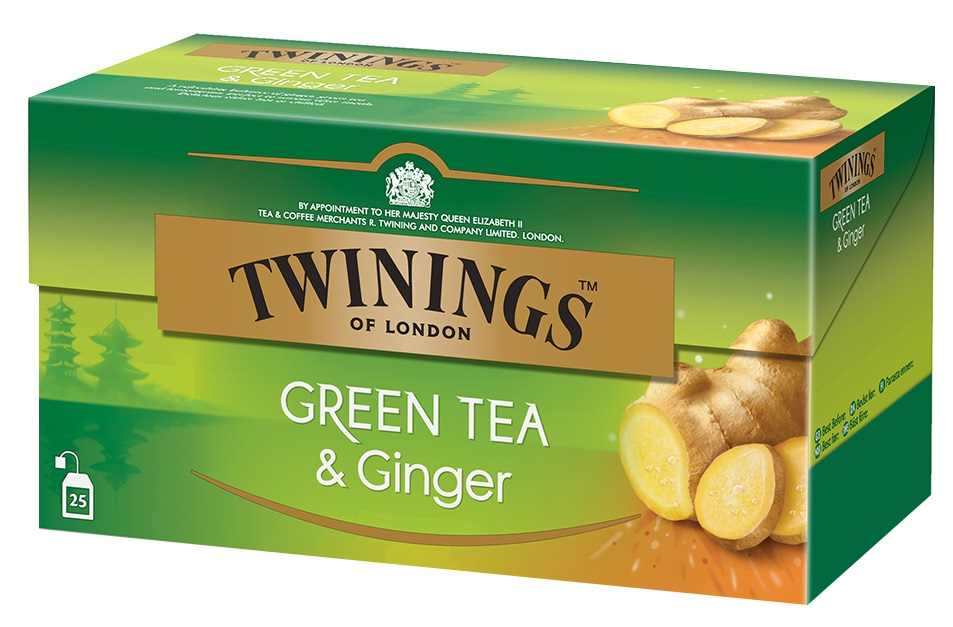 Twinings Τσάι Green Ginger 25φακελάκια