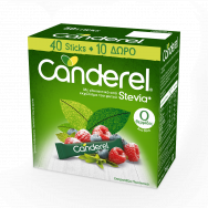 Canderel Stevia Sticks (40+10 Δώρο)