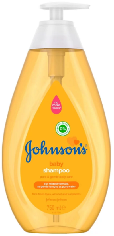 Johnson's Baby Shampoo Αντλία 750ml