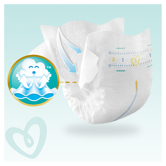 Pampers Πάνες Premium Care Monthly Pack (168τεμ) Νο4 (9-14kg)