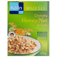 Kolln Muesli Crunchy Honey Nut & Oats 375gr