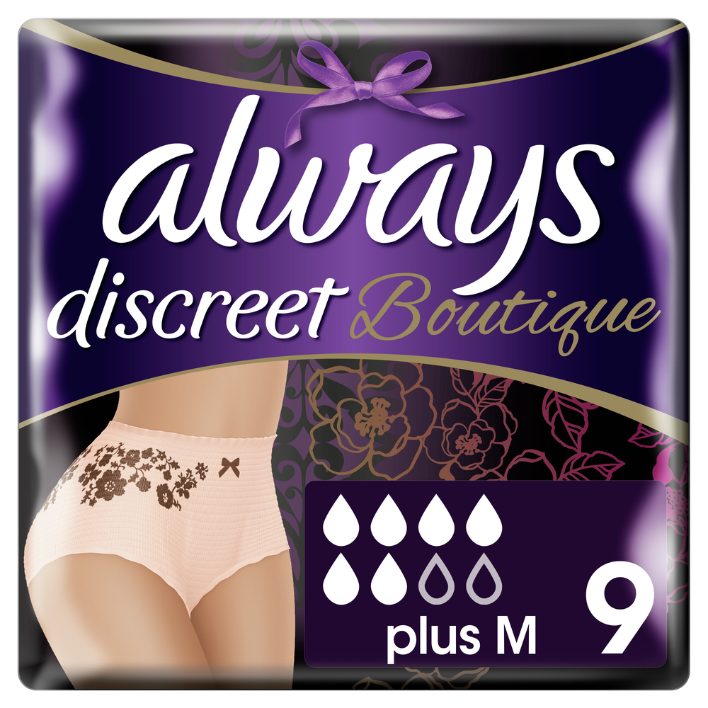 Always Discreet Boutique Medium Pants 9τεμάχια