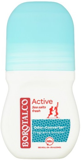 Borotalco Active Sea Salts Fresh Αποσμητικό Roll On 50ml